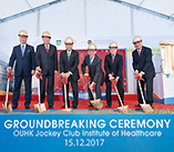 Groundbreaking Ceremony of the OUHK Jockey Club Institute of Healthcare (15.12.2017)