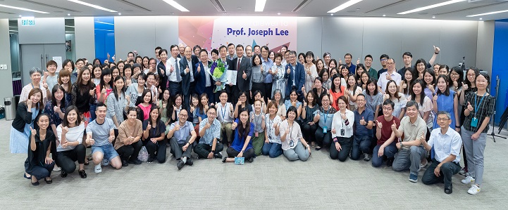 Farewell Party for Prof. Joseph Lee